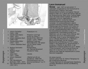 Leon Immanuel Sowa – CD Begegnungen